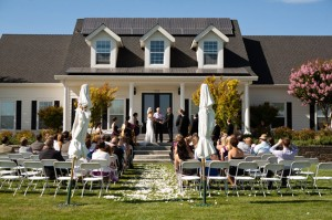 home wedding ceremony